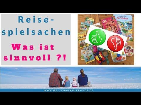 Spielsachen auf Reisen - welche sind wirklich  sinnvoll?! // Welche Spielzeuge haben wir dabei?