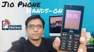 Jio Phone Overview - Hands-on, Features, Apps, Camera on 4G JioPhone