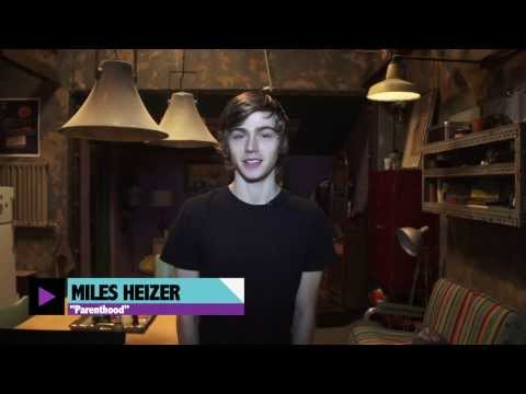 Parenthood Set Tour From Miles Heizer