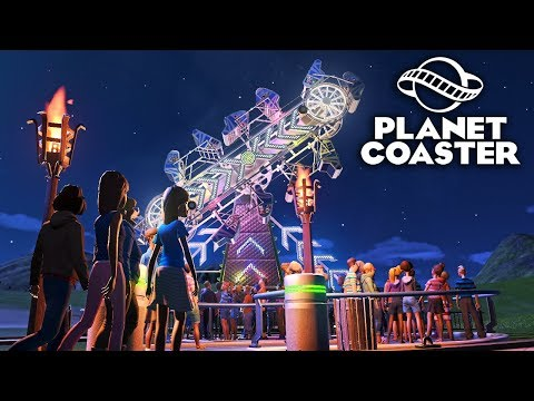 Planet Coaster - Исследования развлечений! #2