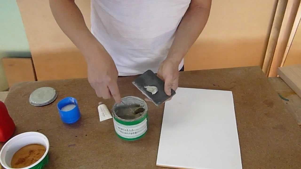Como preparar masilla youtube - Pasta para reparar madera ...