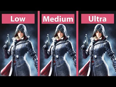 Assassin's Creed Syndicate – PC Low vs. Medium vs. Ultra Detailed Graphics Comparison