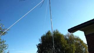 Moxon antenna rotatable for 6m 10m 15m 17m and 20m