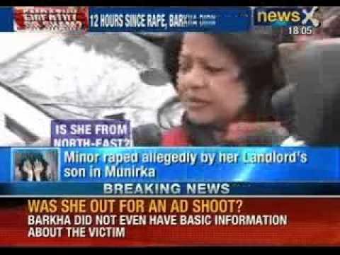 Rape Shame In Delhi: Dcw Chief Barkha Singh's Ignorance Caught On Camera - Newsx video