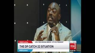Matembe, Ofwono Opondo, Erias Lukwago, Mukasa Mbidde on The Frontline