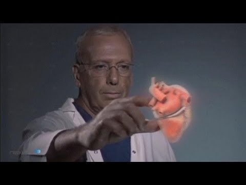 3D Anatomy: Holographic Heart 'Floating' In Mid-Air