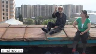 Բացառիկ տեսանյութ. ինչ պահանջներ է ներկայացնում ինքնասպանությամբ սպառնացող հայրենադարձ եղած Եղիշեն
