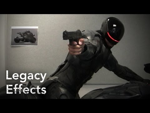 Robocop - Making Of The Suit - Legacy Effects video