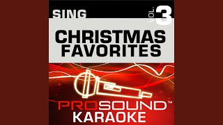 Feliz Navidad Karaoke Instrumental Track In The Style Of Jose Feliciano