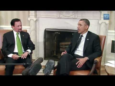 President Obama's Bilateral Meeting with His Majesty Sultan of Brunei