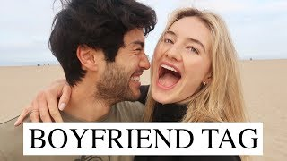 BOYFRIEND TAG | Love, Our Relationship, & Getting To Know Us| Sanne Vloet