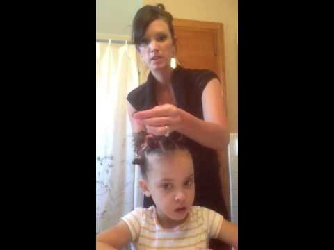 Hairstyle For Little Girl Biracial Youtube