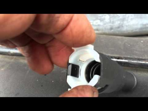 Ford Heater Hose Quick Connect Release how to