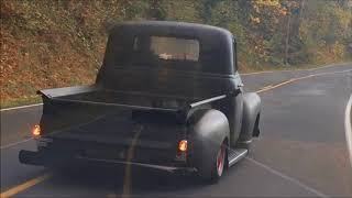 1953 Chevy Truck 3100 Bagged Air Ride Built By Land Pirates of Oregon