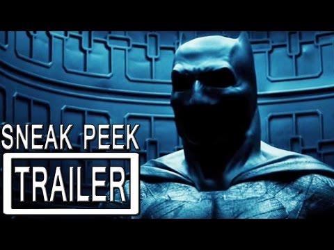 Batman v Superman Trailer Sneak Peek