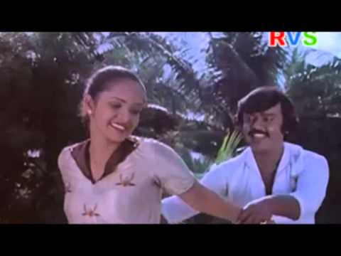 Vijaykanth and Anuradha Hot romantic song from kothapeta rowdy telugu movie