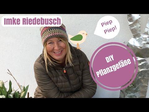 DIY-Deko Ideen zum selber machen - Tipps und Trends zum Thema Pflanzgefäße Teil 1