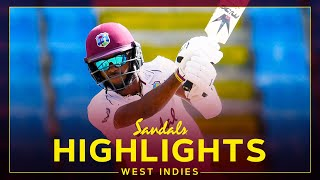 Highlights |West Indies vs Sri Lanka| Brathwaite on 99*&Cornwall 43*!| 1st Sandals Test 2 Day 1 2021