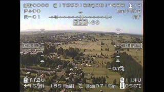 A narrated FPV flight with the FY21AP and FoxTech 5.8GHz video system