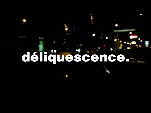 """En Mots Dits #1 - """"une déliquescence"""""""