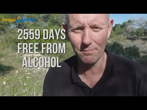 2,559 Days Without Alcohol - Wow - What A Buzz!