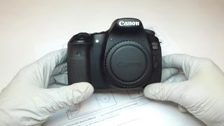 Canon 60D Repair Series - Video #1, Getting Inside The Camera