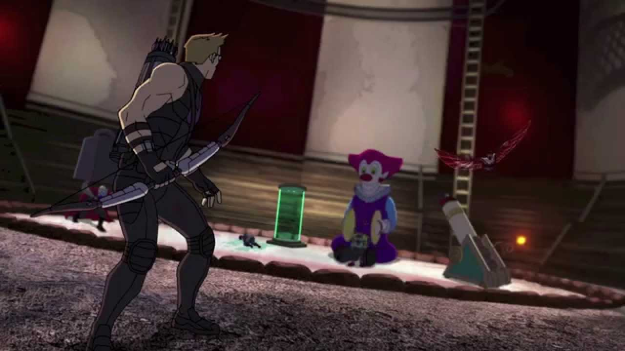 marvel u0026 39 s avengers assemble season 1 episode 24  u0026quot crimes and circuses u0026quot  clip