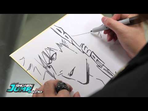 BLEACH: Tite Kubo OFFICIAL Creator Sketch Video by SHONEN JUMP Alpha