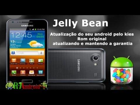 Atualizaçao Android Jelly Bean(passo a passo) original pelo Kies (Samsung galaxy S2 Lite)