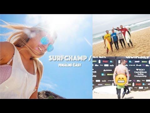 Surfchamp Francie - slova mistrů surfingu, nečekaný záběry na pláži a San Sebastian