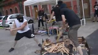 MENTAL HYGIENE TERRORIST ORCHESTRA - low scale terrorist attack in Belfort - 07/04/18