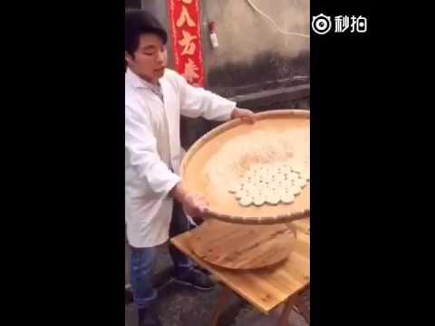 マジックのような篩のテクニック。