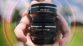 Canon EF Lenses On The Fuji XT3 With GREAT Autofocus!