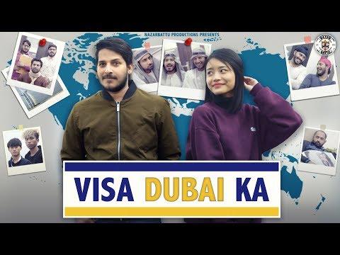 Visa Dubai Ka || Nazarbattu || thumbnail