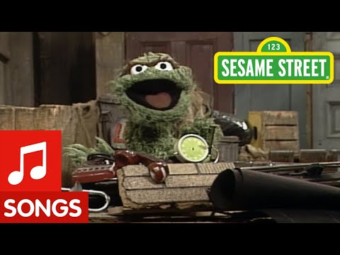 Sesame Street - I Love Trash