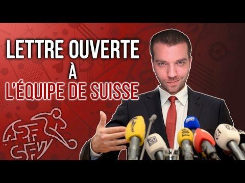 LETTRE OUVERTE A L'EQUIPE DE SUISSE - France Suisse euro 2016