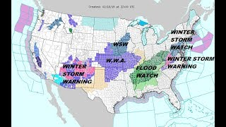 Winter Storm Watch Middle Atlantic to Pennsylvania & Western New Jersey for Wednesday