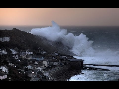 Cornwall Winter Storm (HD) - Son of Hercules
