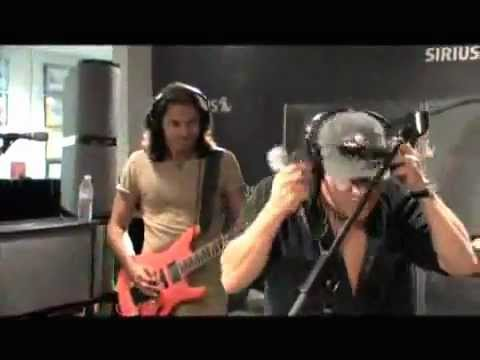 "AC/DC Brian Johnson needing autotune? We don't think so. Singing ""Rock N Roll Ain't Noise Polution"""