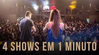 Mariana e Mateus - 4 Shows em 1 Minuto