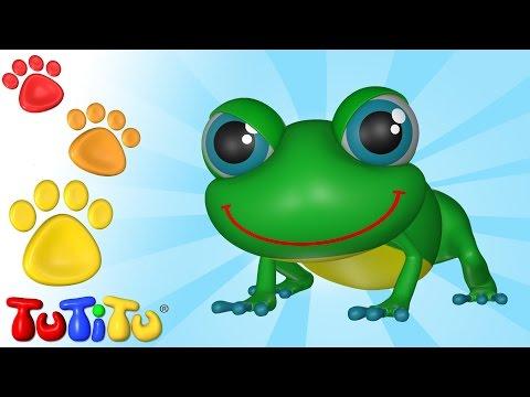 TuTiTu Deutsch | Tiere auf Deutsch | Frosch und andere Tiere