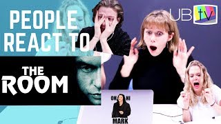 "PEOPLE REACT TO ""THE ROOM"" (Film Academics + Students)"
