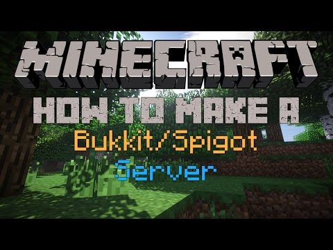 How to Make a Minecraft Bukkit/Spigot Server For 1.11.2
