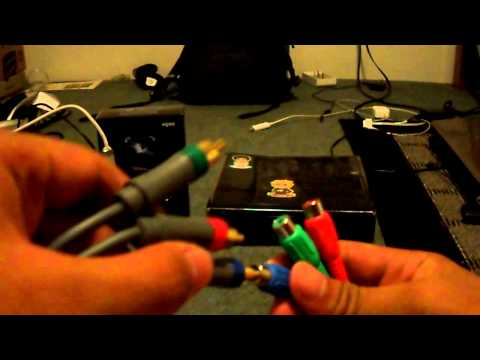 Elgato Game Capture HD Tutorial: Uses Of The Component Cable for Xbox 360