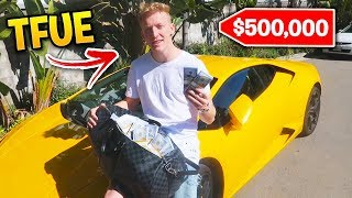 Fortnite Streamers MOST EXPENSIVE CARS! (Tfue, Lachlan, Ninja)