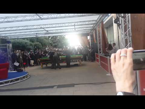 20150503 Steve Davis taught Jarvis Cocker Snooker