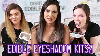 We Tried Edible Eyeshadow Kits (feat. Simply Nailogical & ThreadBanger)