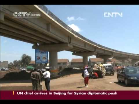 CHINA HELPS BUILD KENYAN SUPER-HIGHWAY