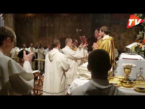 Ceremonia Złożenia Wieczystych ślubów Zakonnych W Częstochowie - 9 Kwietnia 2018