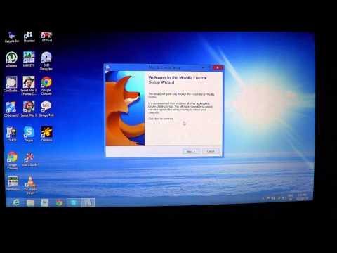 Windows 8 - How to install mozilla firefox